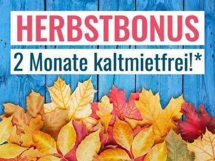 Herbstbonus: 2 Mieten geschenkt
