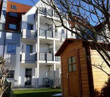 Gepflegte 2-Zimmer-Erdgeschosswohnung mit Garten in Mering
