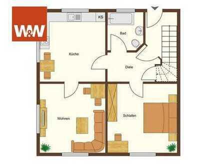 Einziehen und Wohlfühlen! Komplett Sanierte 3 Zimmer Wohnung in Niefern!