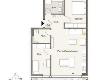 Erstbezug mit Einbauküche und Balkon: exklusive 3,5-Zimmer-Wohnung in Pforzheim