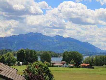 Chiemseejuwel – Ihre exklusive Ruheoase mit unverbaubarem Berg- & Seeblick in privilegierter Lage
