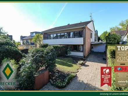 Freistehendes Einfamilienhaus in grüner Ruhiglage von Bonn-Lengsdorf - Verkauf im Gebotsverfahren