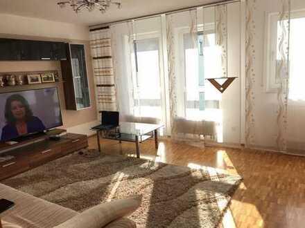 Kapitalanleger aufgepasst! Stilvolle, gepflegte 3-Zimmer-Wohnung mit Balkon und EBK in Erbach