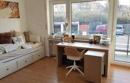 Gemütliche 1-Zimmer Wohnung mit Balkon und Kochnische im Erphoviertel