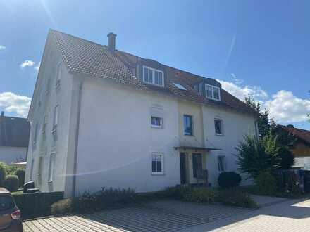 3 Zimmer Wohnung mit Garten in Speichersdorf bei Bayreuth