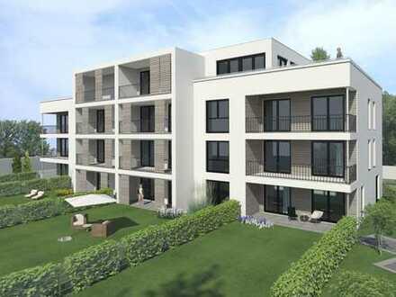 moderne Stadtvilla in Stadtmitte, 3,5 Raum Wohnung im 2. OG mit Aufzug und Südloggia !