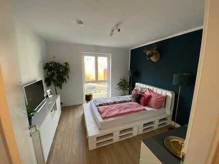 Neubau/ Erstbezug 3 Zimmerwohnung mit Balkon + Tageslichbad in Eschborn ruhig und zentral gelegen