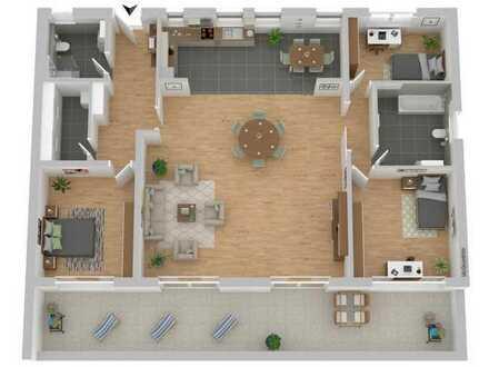 """TOP Neubau-Wohnung """"Am Musikerviertel"""" Penthouse mit Dachterrasse auf 180 m²"""