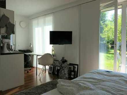 Uninah - attraktives 1 Zimmer-Apartment mit Einbauküche und Terrasse