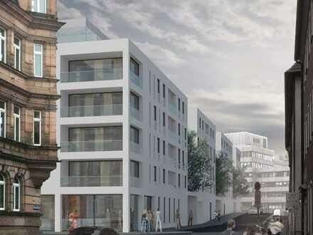 Neubau Büro-/ Praxisflächen Nbg-Innenstadt, provisionsfrei, Ausbau n. Mieterwunsch