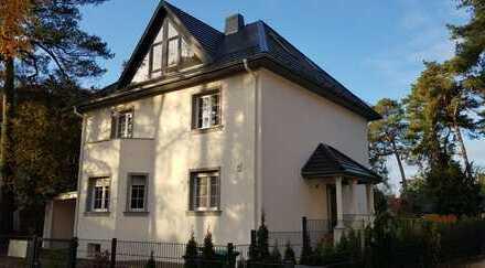 Erstbezug einer möbelierten Loft-Wohnung mit großem Balkon /Garten-Mitnutzung
