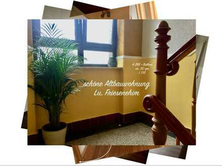 ***Nähe BASF /Spielstraße / Gepflegte 4-Zimmer-Wohnung mit Balkon in Lu-Friesenheim***