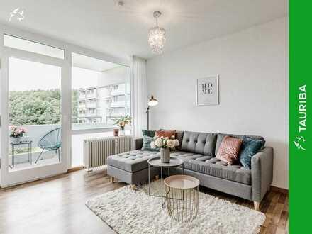 +++Frisch renovierte Wohnung mit Balkon & Tiefgaragenstellplatz +++