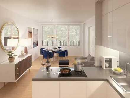 Attraktives 2-Zimmer Apartment mit Blick in den begrünten Innenhof