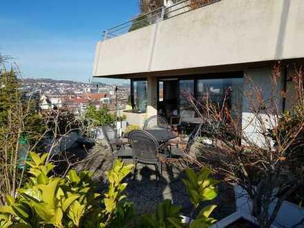 3 Zimmer Wohnung mit großer Terrasse und Ulmer Münster- / Donaublick