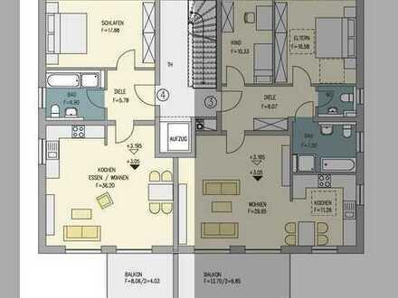 Große 1,5-Zimmer Wohnung mit großen Balkon