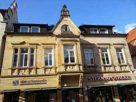 Erstbezug nach Sanierung, helle 4 Zimmer-Wohnung mit Dachterasse im historischen Stadtkern