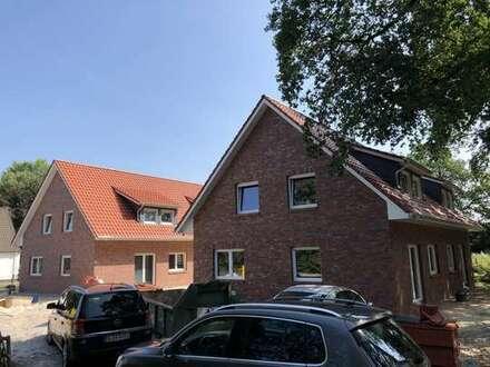 Neubau-Doppelhaushälfte in Sandkrug / Hatterwüsting