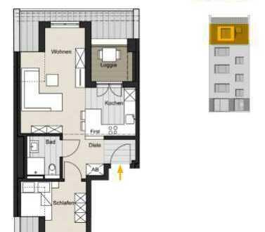 Living Ehrenfeld! 2-Zimmer- Wohnung in der Christianstr. 40 zu verkaufen. WE 05