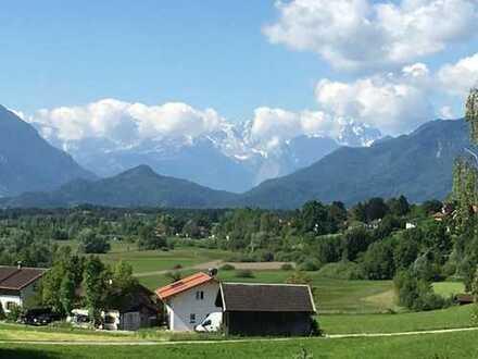 Murnau - 'Alpenpanorama'  Wohnung im EG mit Gartenanteil