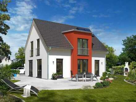 Traumhaus für Familien. Auf einem schönen Grundstück