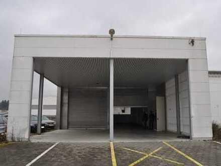 Zweckmäßige Lagerhalle wartet auf neue Nutzung