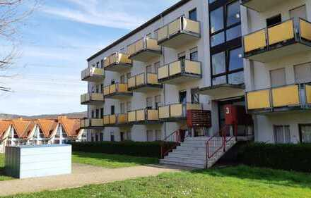 Top renovierte 1-Zimmer-Wohnung mit Balkon, Einbauküche und Tiefgaragenstellplatz in Leimen
