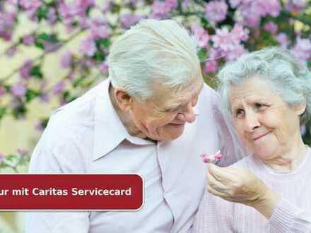 Seniorengerechte 1-Zimmerwohnung mit Service*