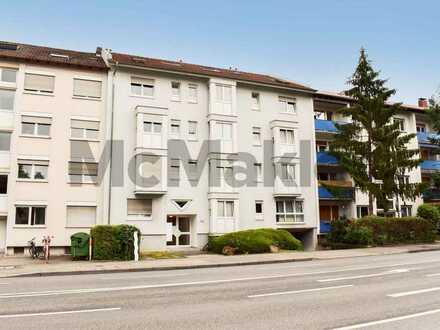 Zentral, vermietet, gepflegt: 1-Zimmer-Apartment in Rohrbach - ideal für Kleinanleger!