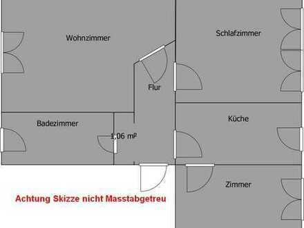 Bild_Schöne, ruhig gelegene, 76 m² 3 Zi. Whg. EBK, ab sofort, S-Bahnanschluss nach Berlin