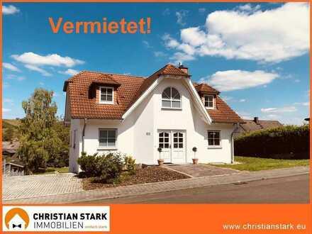 Familienglück in Guldental zu mieten: ca.150 m² großes Einfamilienhaus in Aussichtslage!