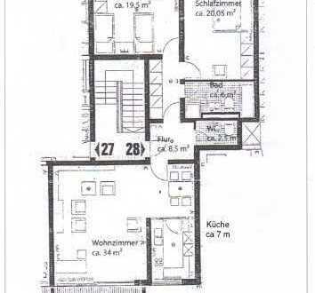 Stilvolle, sanierte 3-Zimmer-Wohnung mit Süd-Balkon und separatem Hobbyraum in Nymphenburg