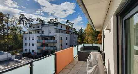 ... modern helle barrierefreie 2-Zi-Whg mit EBK + Südbalkon und Lift in ruhiger Zentrumslage ...