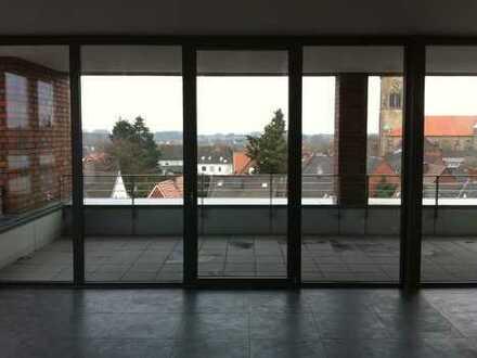 Neuwertige 3-Zimmer-Penthouse-Wohnung mit Balkon und Einbauküche in Stadtlohn