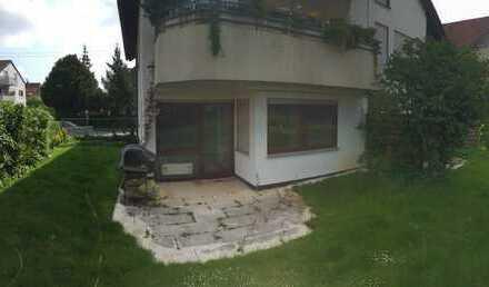 Terrassenwohnung mit Gartenausblick