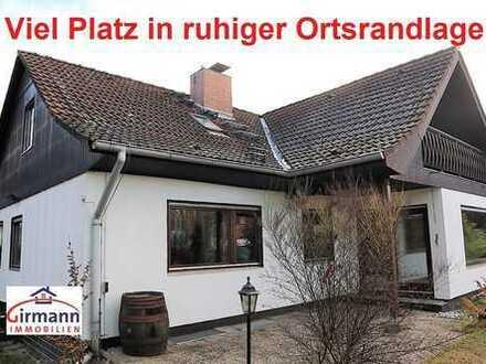 Viel Platz in ruhiger Ortsrandlage - 2 Wohneinheiten möglich !