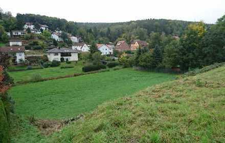 Baugrundstück in ruhiger, ländlicher Südostlage