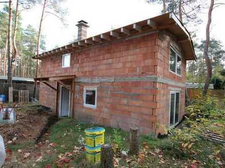 1. Wohnsitz oder Ferienhaus im Rohbau mit 650m² Grundstück am Badesee