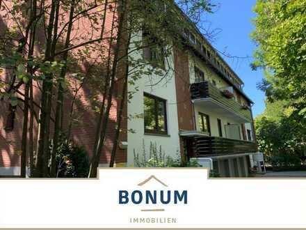 Erstbezug nach Sanierung! Erstklassige 3-Zi-Wohnung mit 2 Balkonen nahe Uni - auch ideal für Anleger