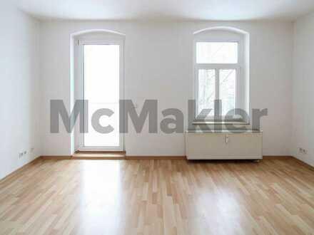 Tolle Kapitalanlage: Helle und gut geschnittene 2-Raum-Wohnung mit Balkon
