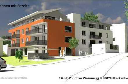 """2-Zimmer Wohnung!! """"Betreutes Wohnen mit Service"""" in Friedrichshafen-Schnetzenhausen!!"""