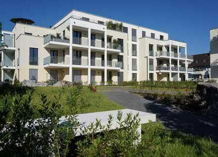 Exklusives Ambiente in einer modernen 3 Zimmer Ergeschosswohnung mit Terrasse