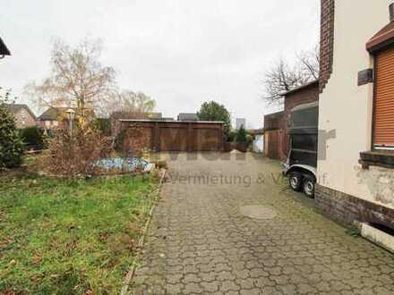 Ein Grundstück, viele Möglichkeiten: Großes Baugrundstück im Grünen für EFH oder MFH in Duisburg