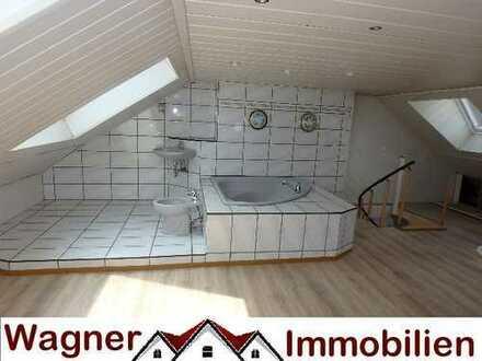Außergewöhnliche Maisonette auf 106 qm 4 Zimmer mit Wellnessbad in ruhiger Lage !