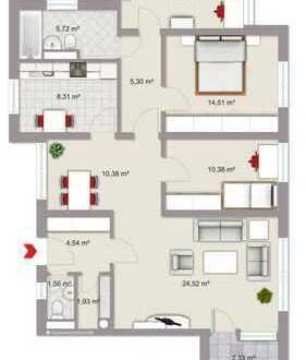 MM-Innenstadt, 4.5 Zimmer-Wohnung zu vermieten