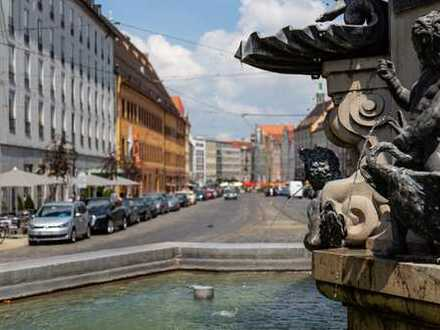Zentraler geht es nicht: 1-Zimmer-Wohnung mit TG-Stellplatz im Herzen von Augsburg!