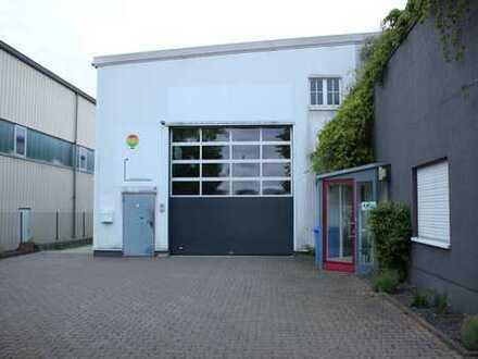 Lager-Produktionshalle-Ausstellungsräume mit Büros