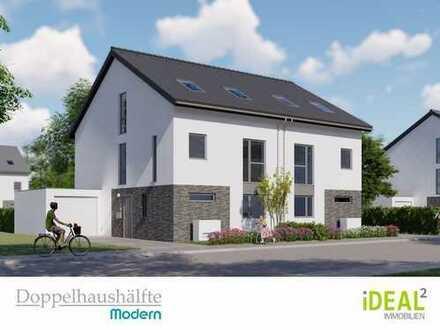 ++ Jetzt neu ++ Neubau-Doppelhaushälften mit modernem Grundriss