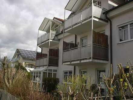 2½-Zi.-Garten-EG-Wohnung mit kl. Wintergarten + off. Souterrainzimmer am ruh. südlichen Stadtrand.