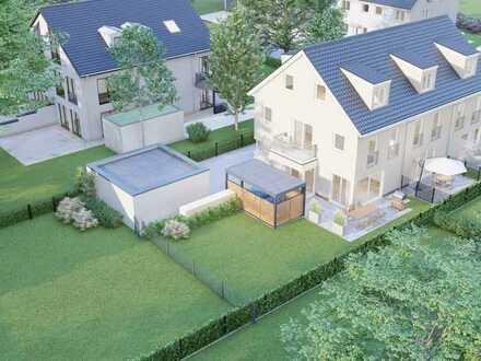 Nur noch 1 Haus frei: Neubau: Reihenmittelhaus mit separaten Gartenfläche und gehobener Ausstattung